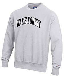 Champion Men's Wake Forest Demon Deacons Reverse Weave Crew Sweatshirt