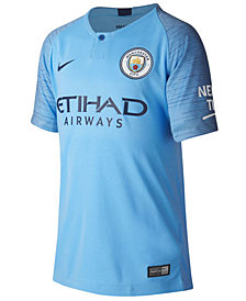 Nike Manchester City Club Team Home Stadium Jersey, Big Boys (8-20)