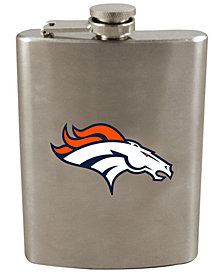 Memory Company Denver Broncos 8oz Stainless Steel Flask