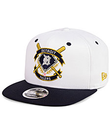 New Era Detroit Tigers Crest 9FIFTY Snapback Cap
