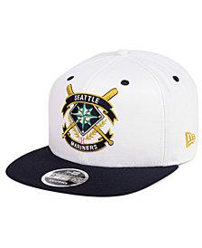 New Era Seattle Mariners Crest 9FIFTY Snapback Cap
