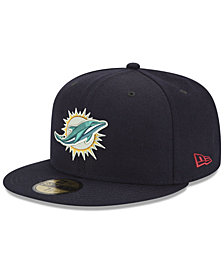 New Era Miami Dolphins Team Basic 59FIFTY FITTED Cap