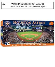 MasterPieces Houston Astros 1000 Piece Panoramic Puzzle
