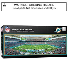 MasterPieces Miami Dolphins 1000 Piece Panoramic Puzzle