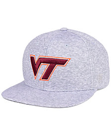 Top of the World Virginia Tech Hokies Solar Snapback Cap