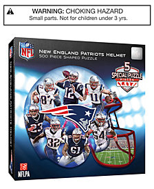 MasterPieces New England Patriots 500 Piece Shaped Puzzle