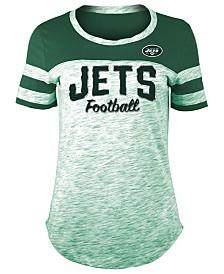 5th & Ocean Women's New York Jets Space Dye T-Shirt