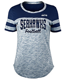 5th & Ocean Women's Seattle Seahawks Space Dye T-Shirt