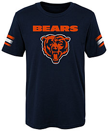 Outerstuff Chicago Bears Goal Line T-Shirt, Little Boys (4-7)