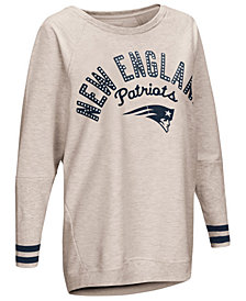 Touch by Alyssa Milano Women's New England Patriots Backfield Long Sleeve Top