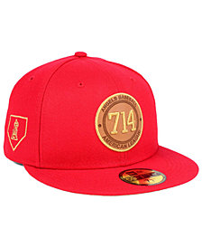 New Era Los Angeles Angels Area Patch 59FIFTY FITTED Cap