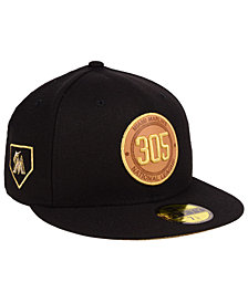 New Era Miami Marlins Area Patch 59FIFTY FITTED Cap