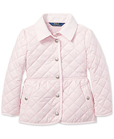 Polo Ralph Lauren Little Girls Quilted Barn Jacket