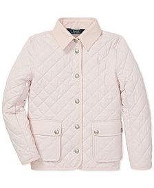 Polo Ralph Lauren Big Girls Quilted Barn Jacket