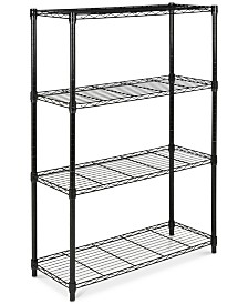 Bravo 4-Tier Wire Shelf, Quick Ship