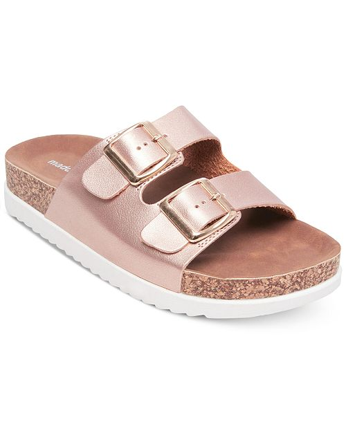 776b435ba86 Madden Girl Goldiie Footbed Sandals  Madden Girl Goldiie Footbed Sandals ...