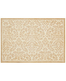 "Nourison Waverly Damask 24"" x 36"" Accent Rug"