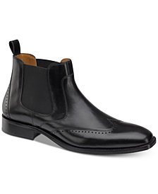 Johnston & Murphy Men's Sanborn Chelsea Boots