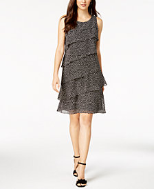 Jessica Howard Tiered Dress