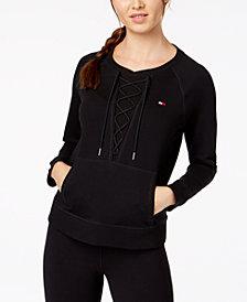 Tommy Hilfiger Sport Lace-Up Detail Sweatshirt