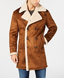 Men's Faux-Shearling Overcoat