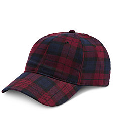 I.N.C. Men's Tartan Baseball Cap, Created for Macy's