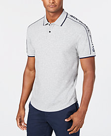 Michael Kors Men's Contrast-Trim Polo, Created for Macy's