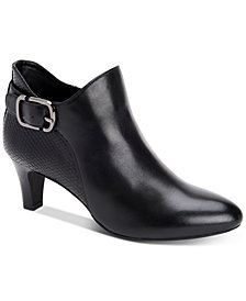 Alfani Women's Step 'N Flex Valmontt Booties, Created for Macy's