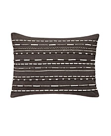 Applied Cord Decorative Pillow