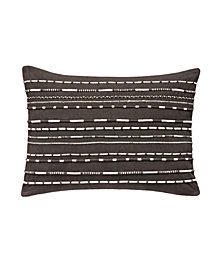 Splendid Applied Cord Decorative Pillow