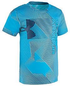 Under Armour Toddler Boys Sequence Hybrid Logo Graphic T-Shirt