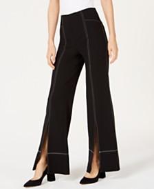 I.N.C. Split Wide-Leg Pants, Created for Macy's
