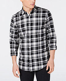American Rag Men's Seager II Plaid Shirt, Created for Macy's
