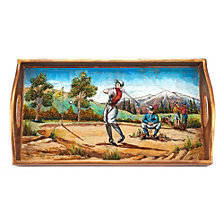 Golf 12.5 Inch Rectangle Tray
