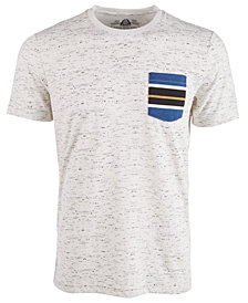 American Rag Men's Heathered Striped-Pocket T-Shirt, Created for Macy's
