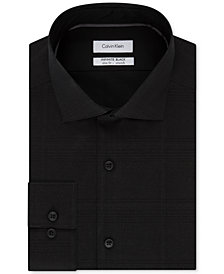 Calvin Klein Men's STEEL Slim-Fit Non-Iron Performance Dress Shirt