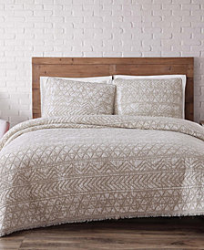 Brooklyn Loom Sand Washed Cotton Quilt Set Collection