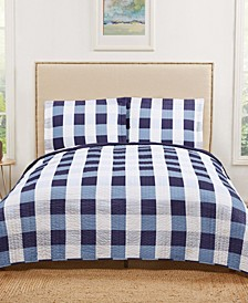 Everyday Buffalo Plaid Quilt Set Collection