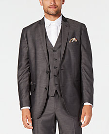 I.N.C. Men's Classic-Fit Dark Grey Suit Jacket, Created for Macy's