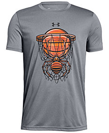 Under Armour Big Boys Basketball-Print T-Shirt