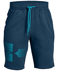 Under Armour Big Boys Rival Graphic Fleece Shorts