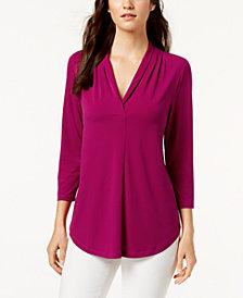 Charter Club 3/4-Sleeve Top, Created for Macy's