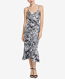 RACHEL Rachel Roy Ace Printed Midi Dress, Created for Macy's