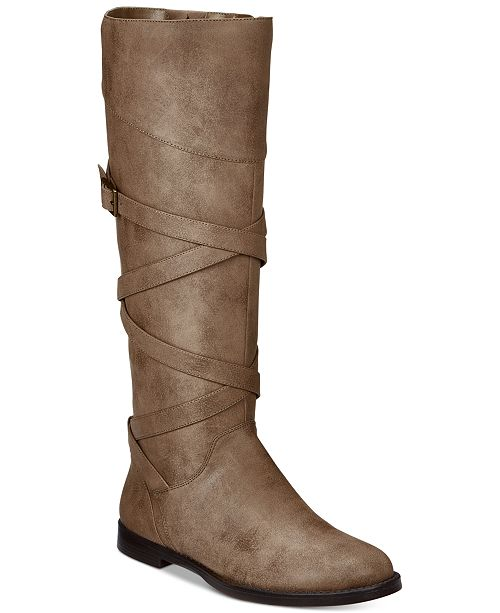6080fb78a26e Easy Street Memphis Tall Boots   Reviews - Boots - Shoes - Macy s