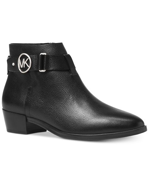 aba02e5ce515 Michael Kors Harland Ankle Booties   Reviews - Boots - Shoes - Macy s