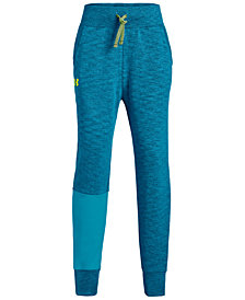 Under Armour Big Girls Double-Knit Jogger Pants