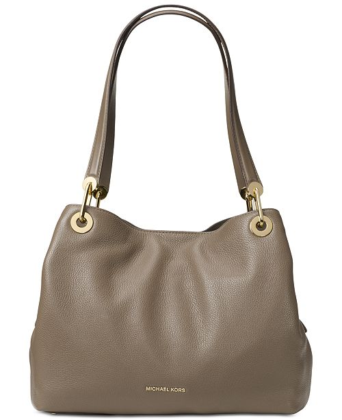 Michael Kors Raven Pebble Leather Tote & Reviews