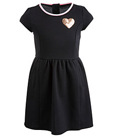 Epic Threads Little Girls Sequin Heart Dress, Created for Macy's