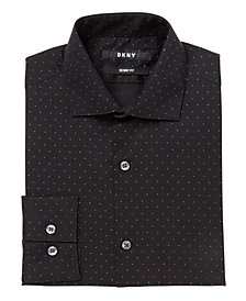 DKNY Big Boys Dot-Print Shirt