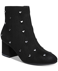Bar III Jadine Ankle Booties, Created for Macy's